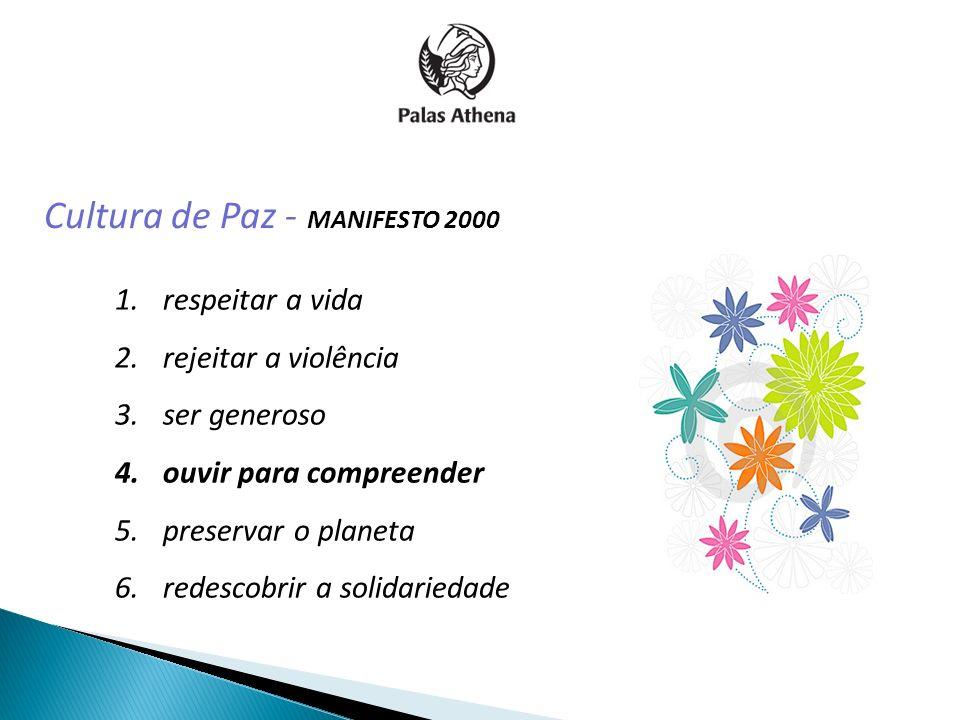 Cultura de Paz - MANIFESTO 2000