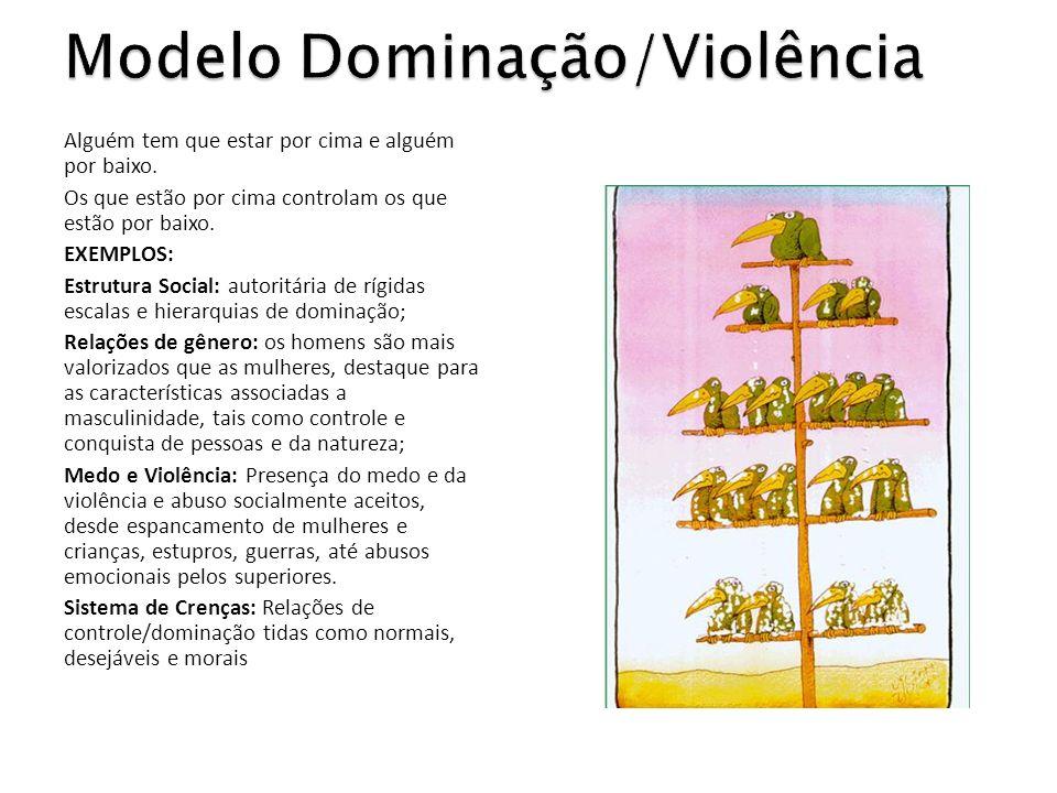 Modelo Dominação/Violência