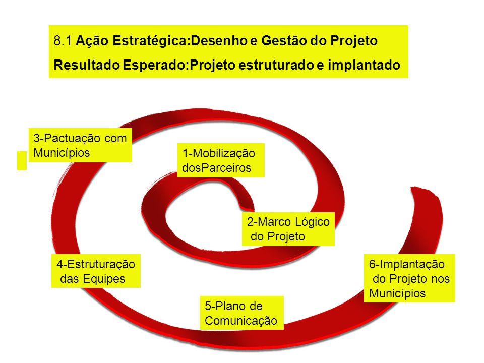 8.1 Ação Estratégica:Desenho e Gestão do Projeto