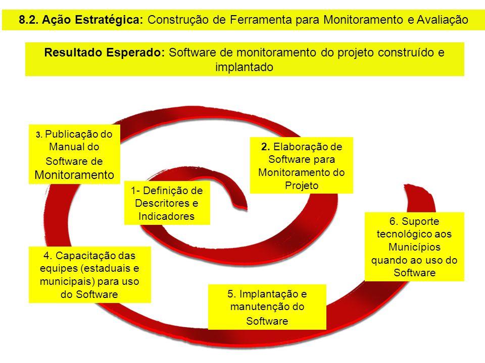 8.2. Ação Estratégica: Construção de Ferramenta para Monitoramento e Avaliação