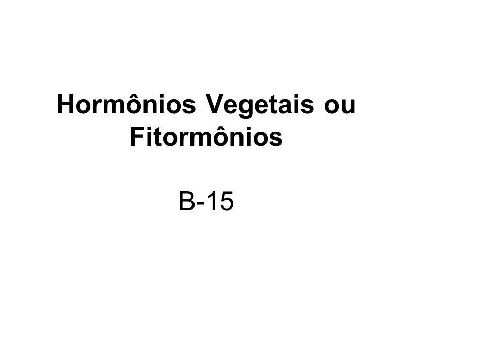 Hormônios Vegetais ou Fitormônios B-15