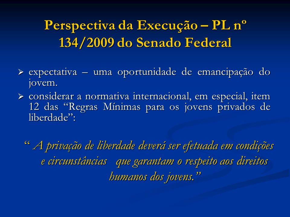Perspectiva da Execução – PL nº 134/2009 do Senado Federal