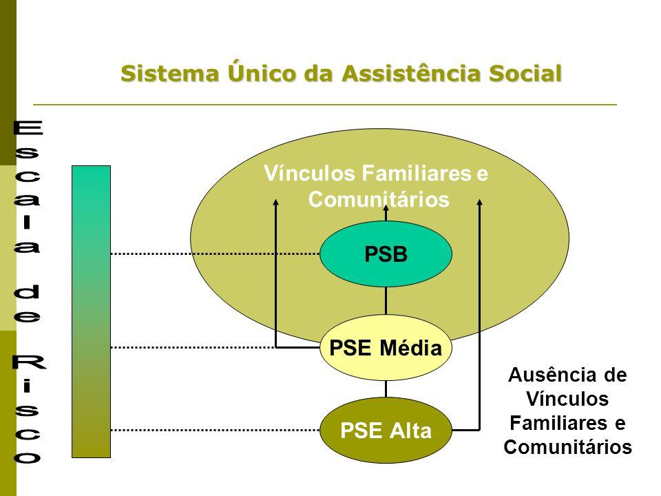 Escala de Risco Sistema Único da Assistência Social