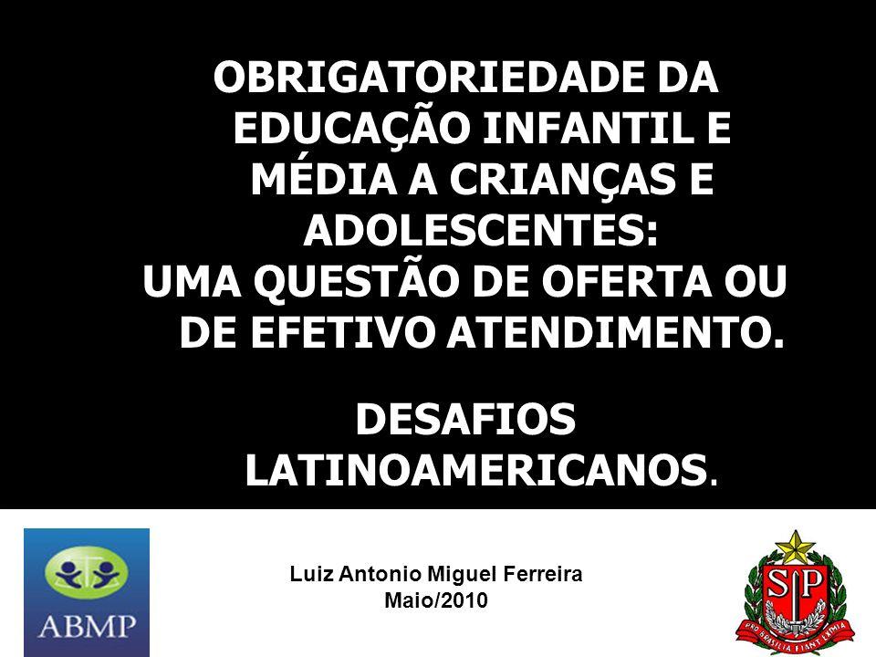 UMA QUESTÃO DE OFERTA OU DE EFETIVO ATENDIMENTO.