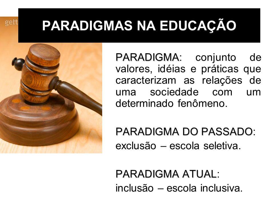 PARADIGMAS NA EDUCAÇÃO
