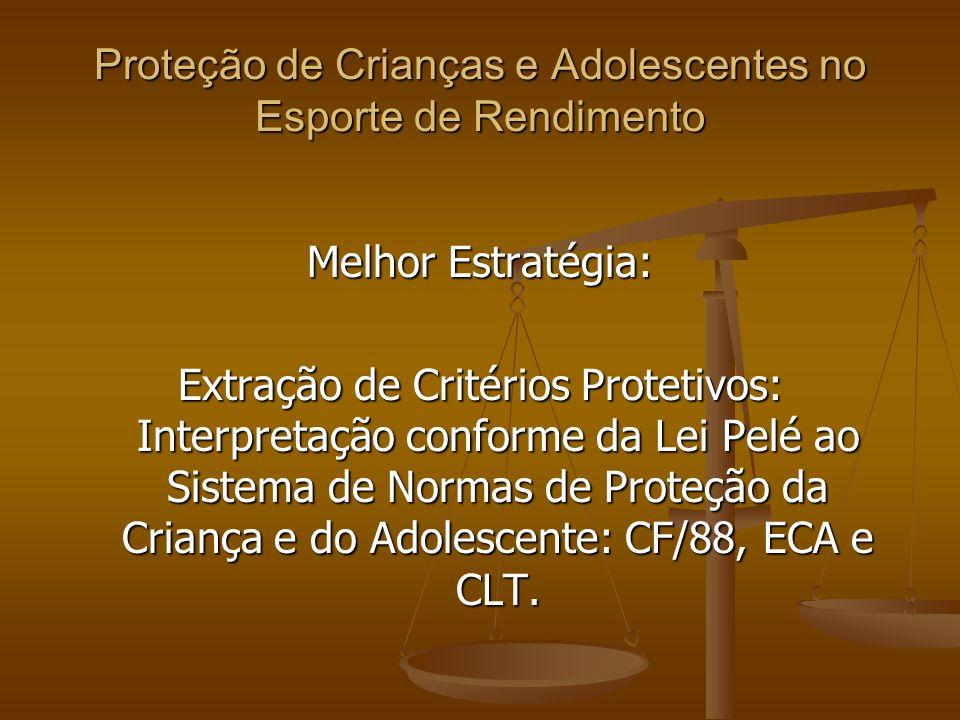 Proteção de Crianças e Adolescentes no Esporte de Rendimento