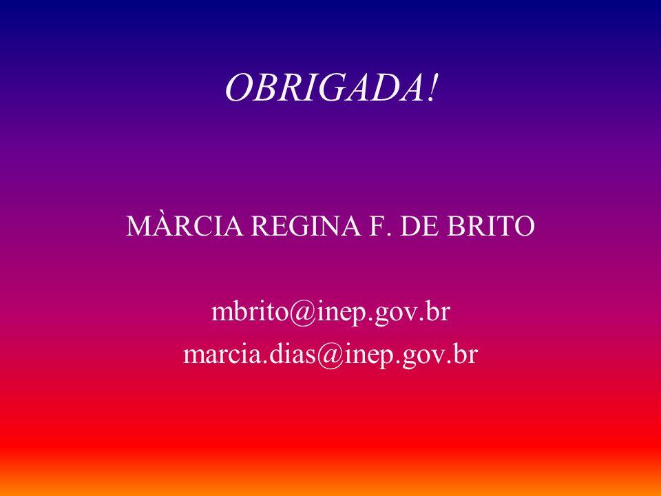 MÀRCIA REGINA F. DE BRITO