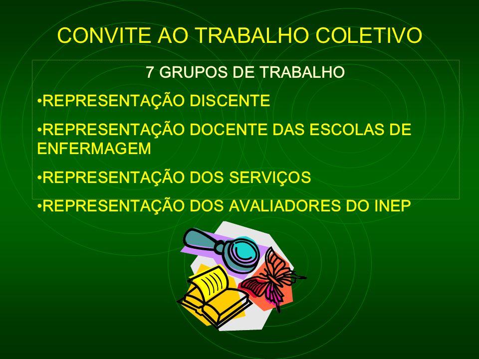 CONVITE AO TRABALHO COLETIVO