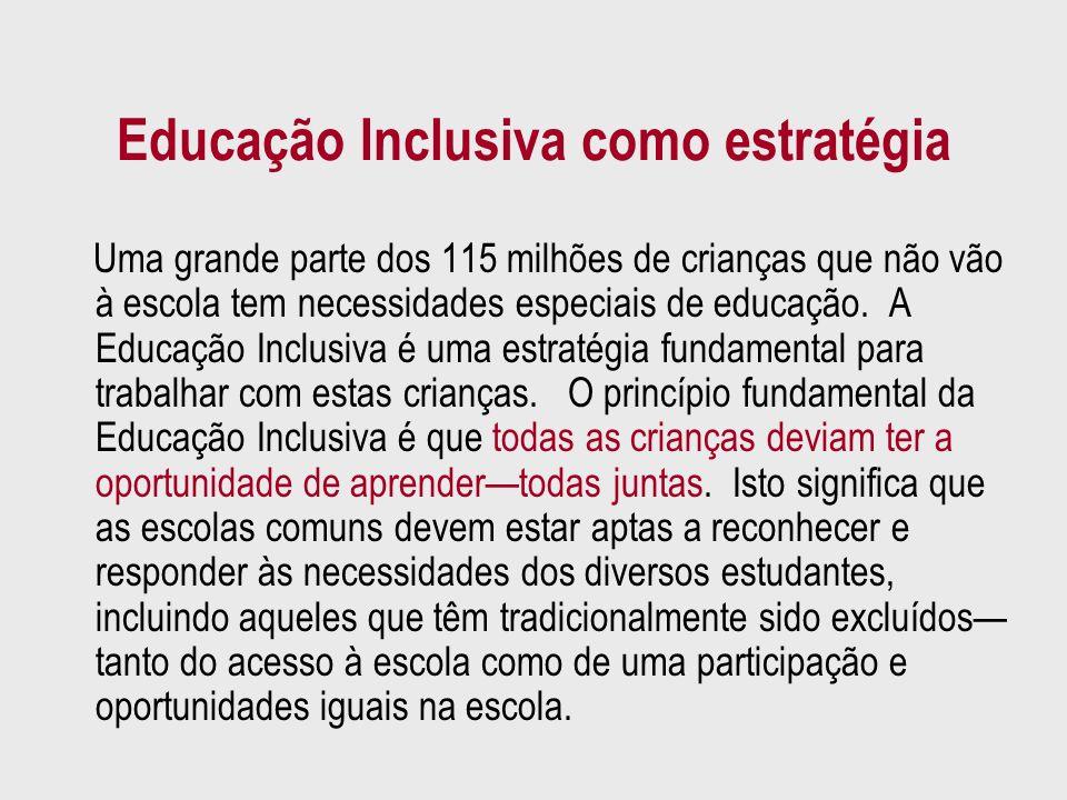 Educação Inclusiva como estratégia