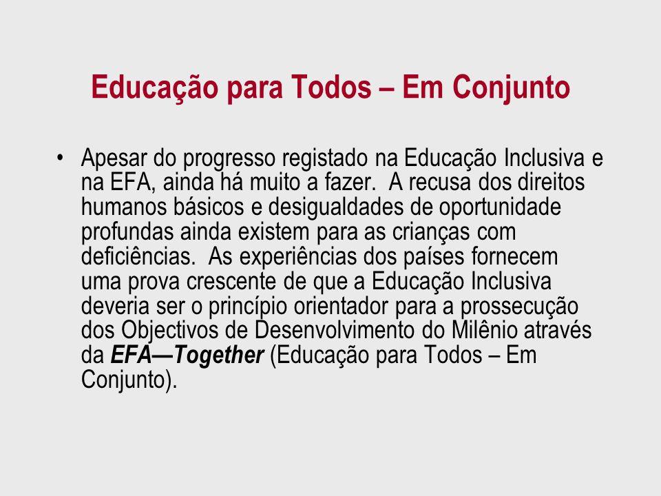 Educação para Todos – Em Conjunto