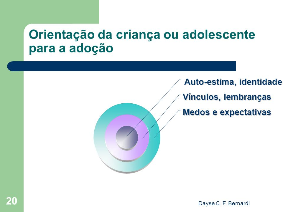 Orientação da criança ou adolescente para a adoção