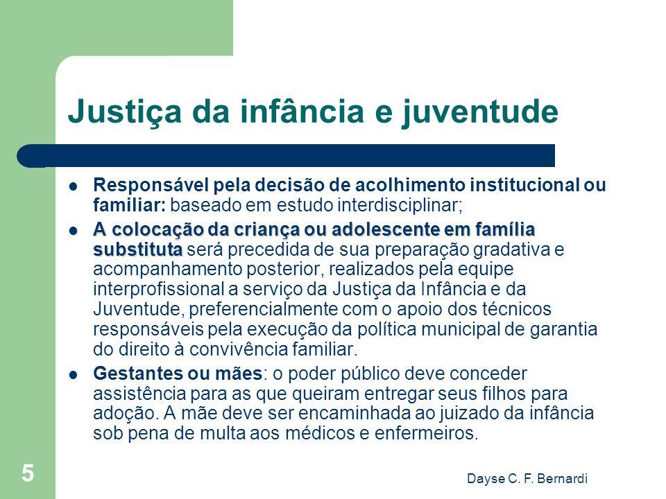 Justiça da infância e juventude