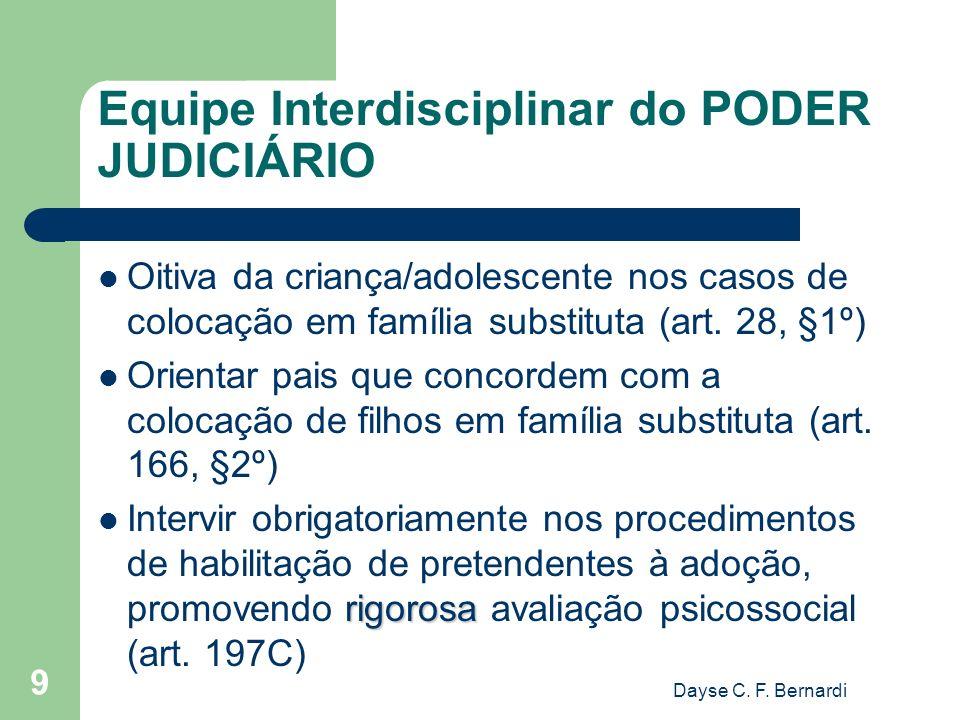 Equipe Interdisciplinar do PODER JUDICIÁRIO