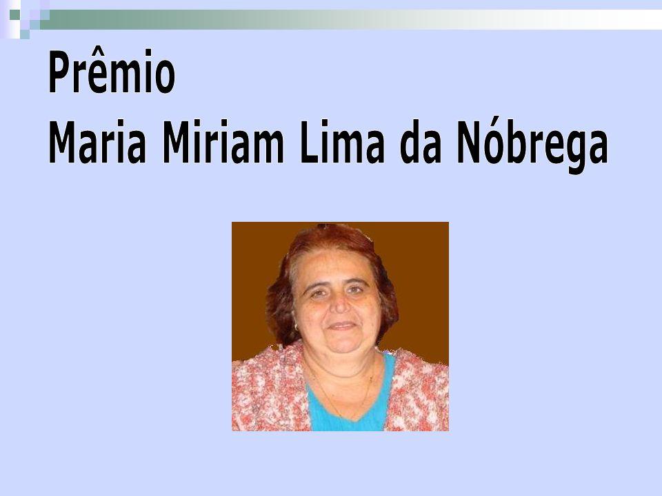 Prêmio Maria Miriam Lima da Nóbrega