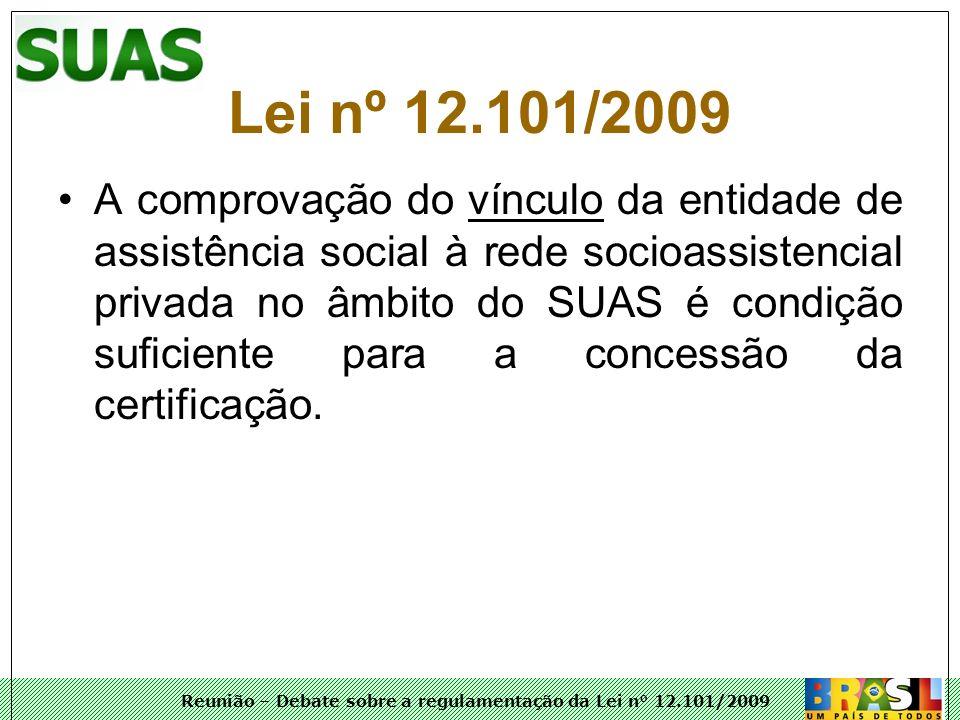 Lei nº 12.101/2009