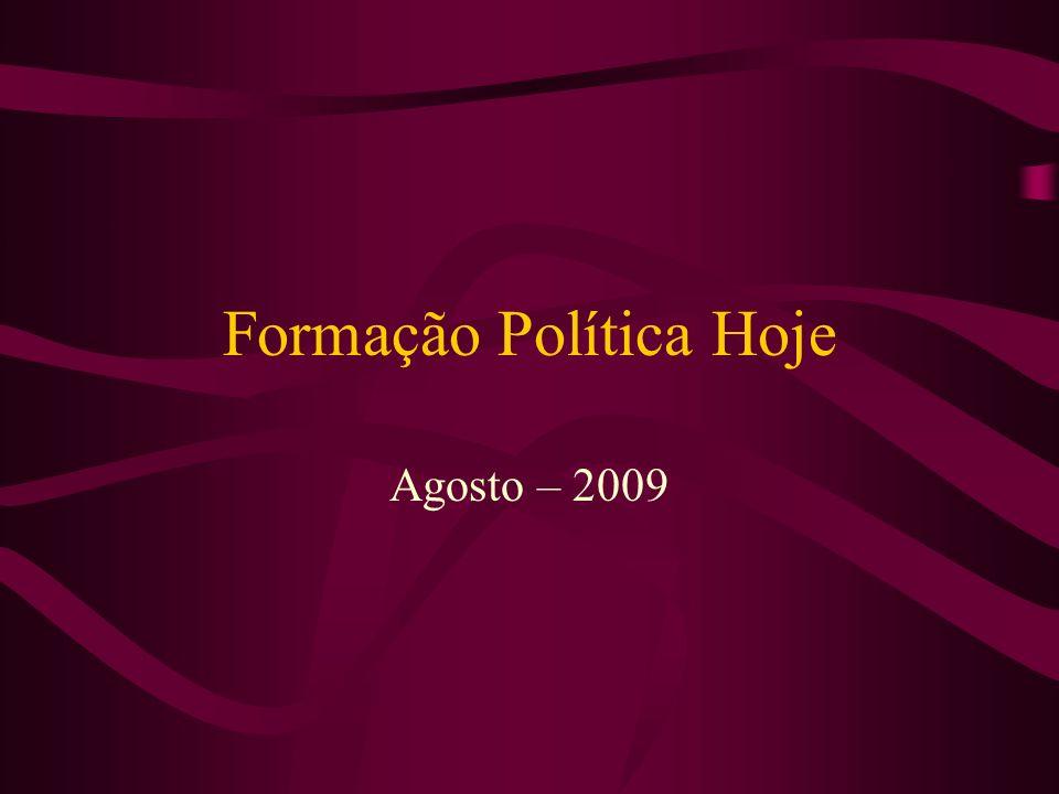 Formação Política Hoje
