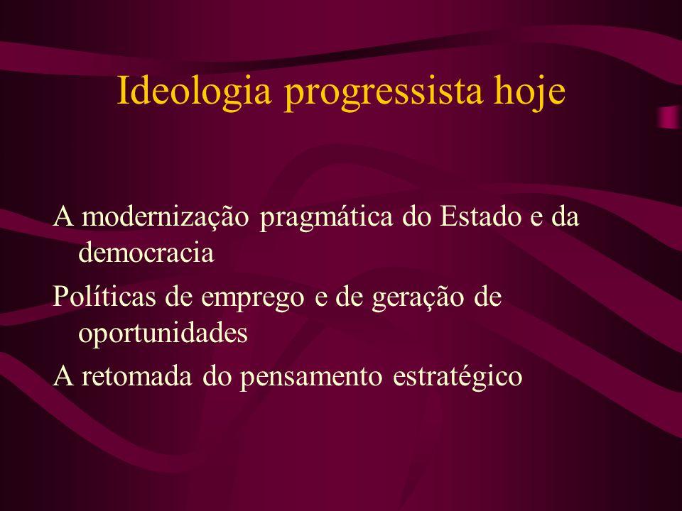 Ideologia progressista hoje