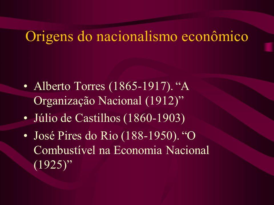Origens do nacionalismo econômico