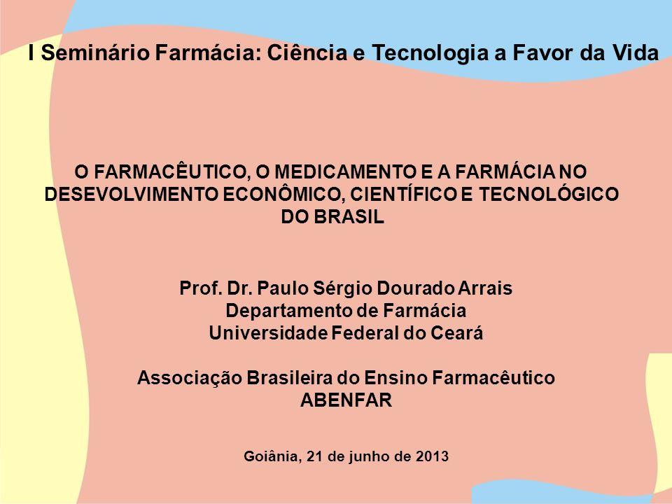 I Seminário Farmácia: Ciência e Tecnologia a Favor da Vida
