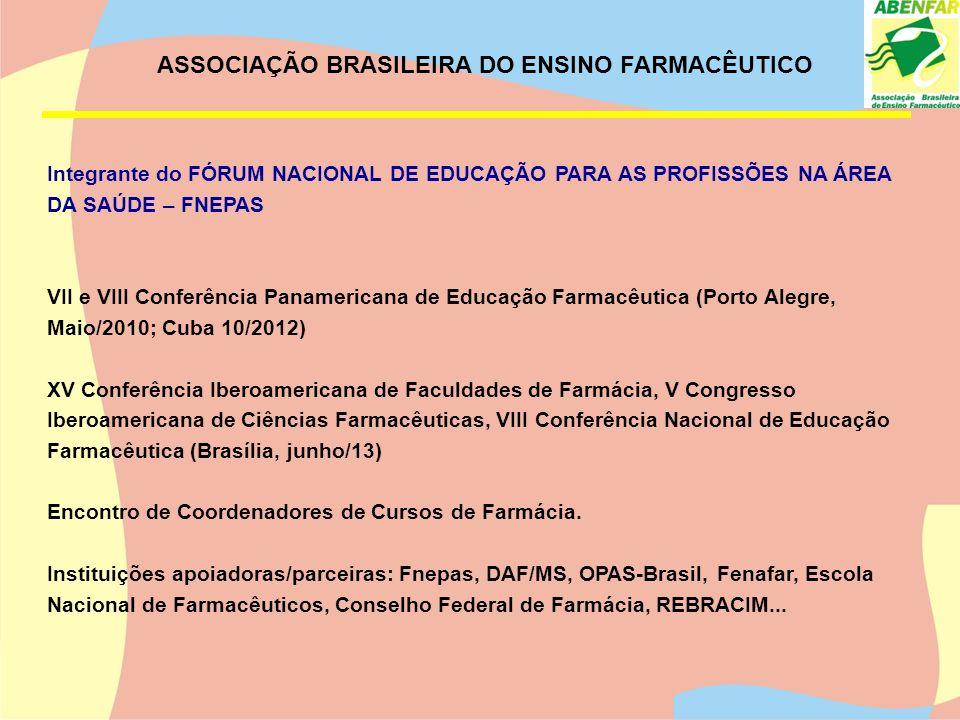 ASSOCIAÇÃO BRASILEIRA DO ENSINO FARMACÊUTICO