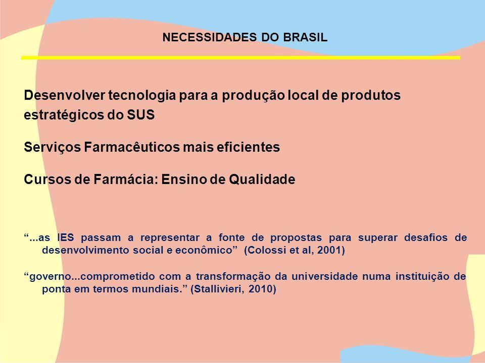 NECESSIDADES DO BRASIL