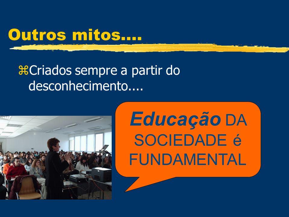 Educação DA SOCIEDADE é FUNDAMENTAL