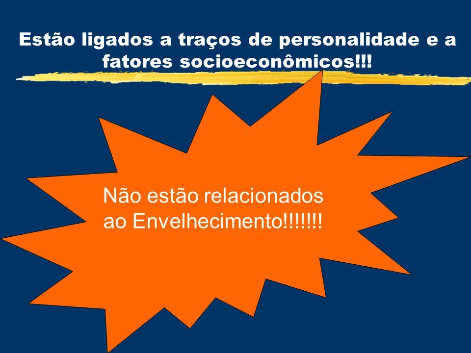 Estão ligados a traços de personalidade e a fatores socioeconômicos!!!