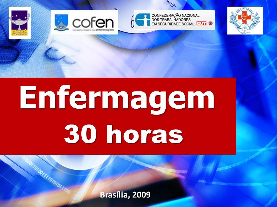 Enfermagem 30 horas Brasília, 2009