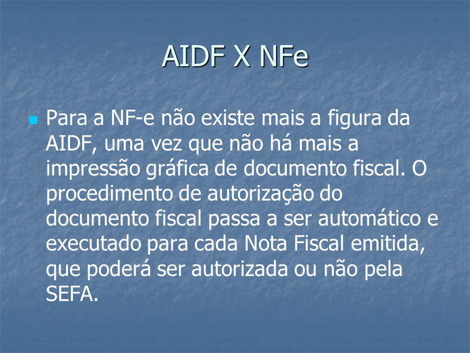 AIDF X NFe