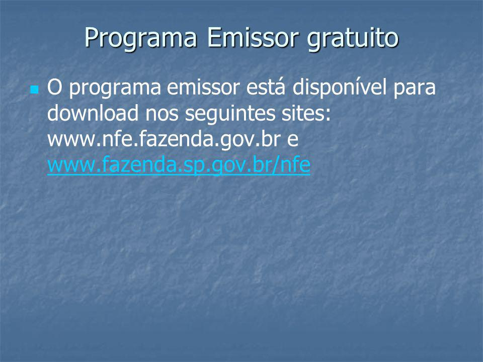 Programa Emissor gratuito