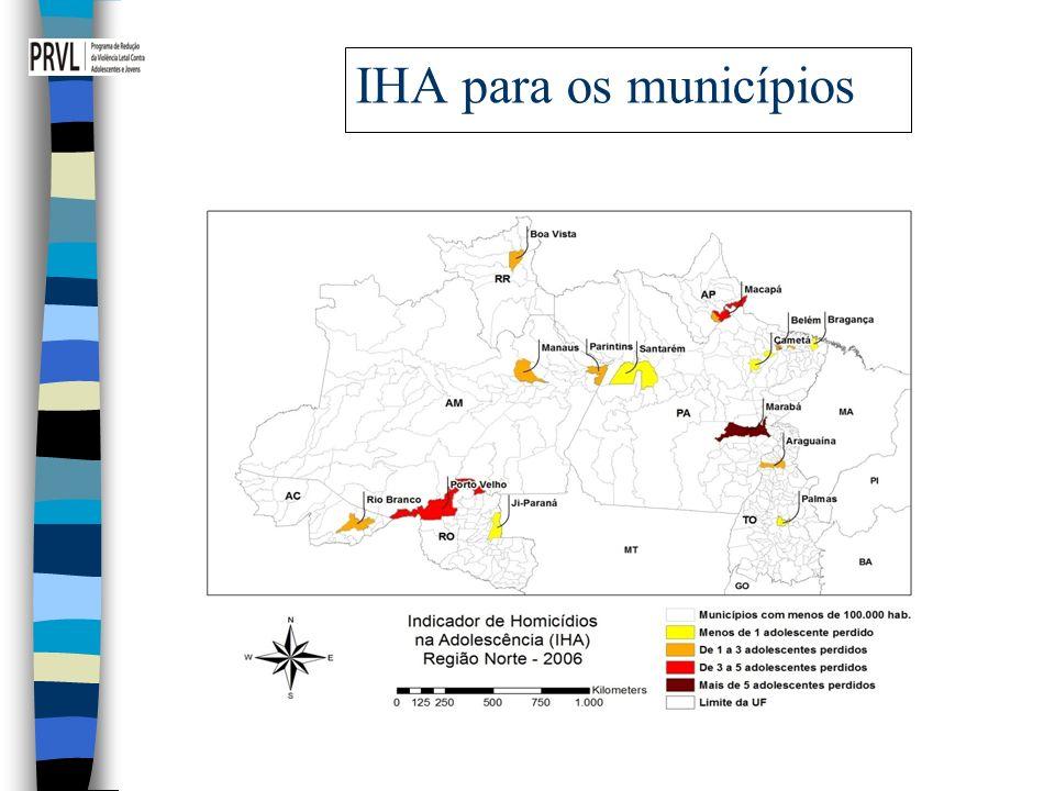 IHA para os municípios 16