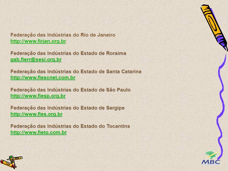 Federação das Indústrias do Rio de Janeiro http://www. firjan. org