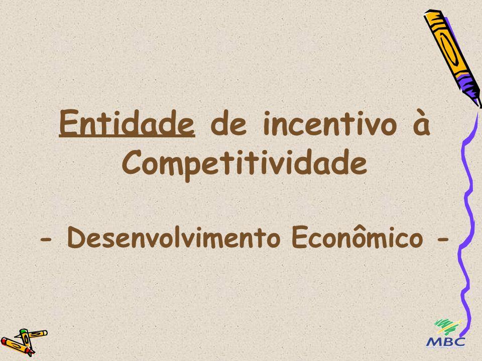 Entidade de incentivo à Competitividade - Desenvolvimento Econômico -