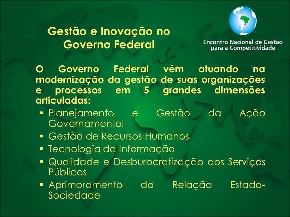 Gestão e Inovação no Governo Federal