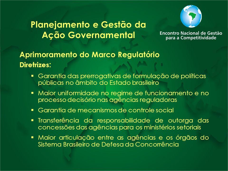 Planejamento e Gestão da Ação Governamental