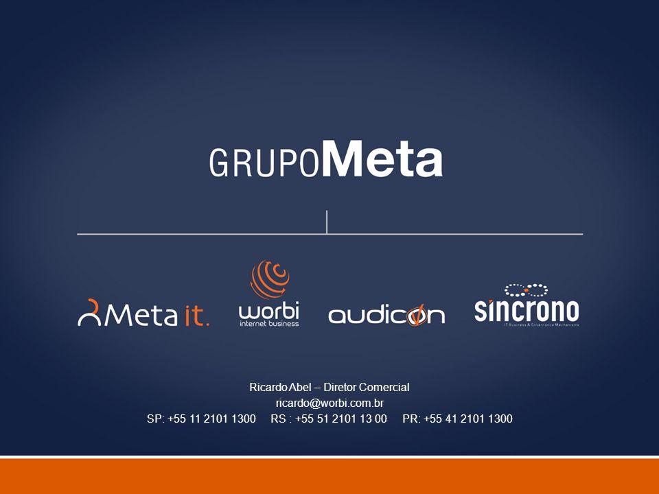 Fulano de Tal – Gerente de Projetos fulano@metait.com.br
