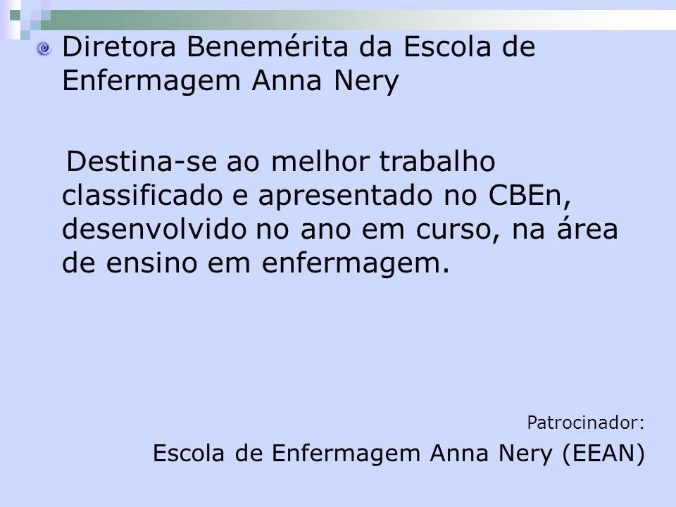 Diretora Benemérita da Escola de Enfermagem Anna Nery