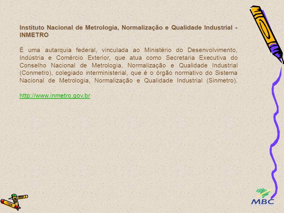Instituto Nacional de Metrologia, Normalização e Qualidade Industrial - INMETRO