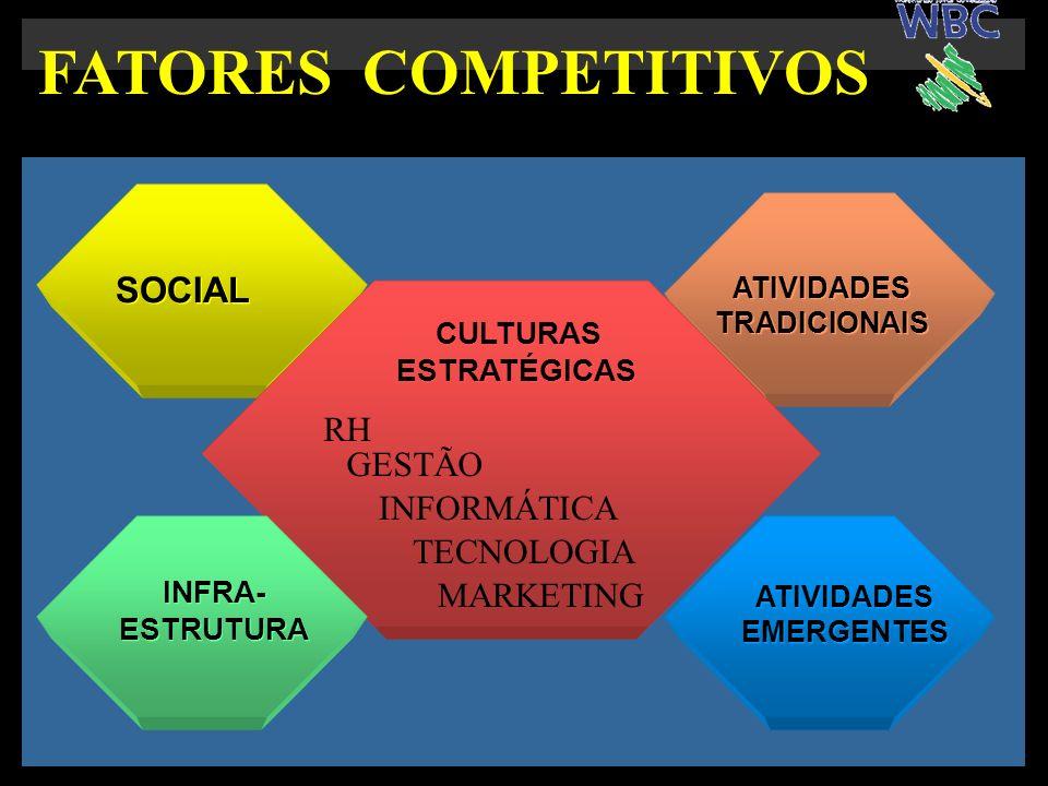 FATORES COMPETITIVOS SOCIAL RH GESTÃO INFORMÁTICA TECNOLOGIA MARKETING
