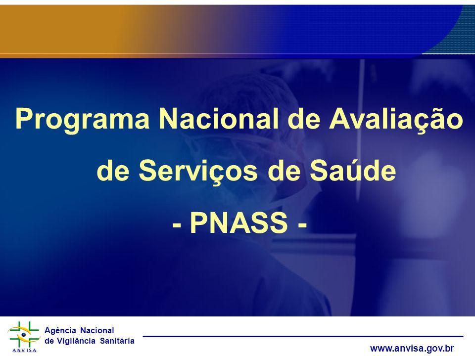 Programa Nacional de Avaliação de Serviços de Saúde