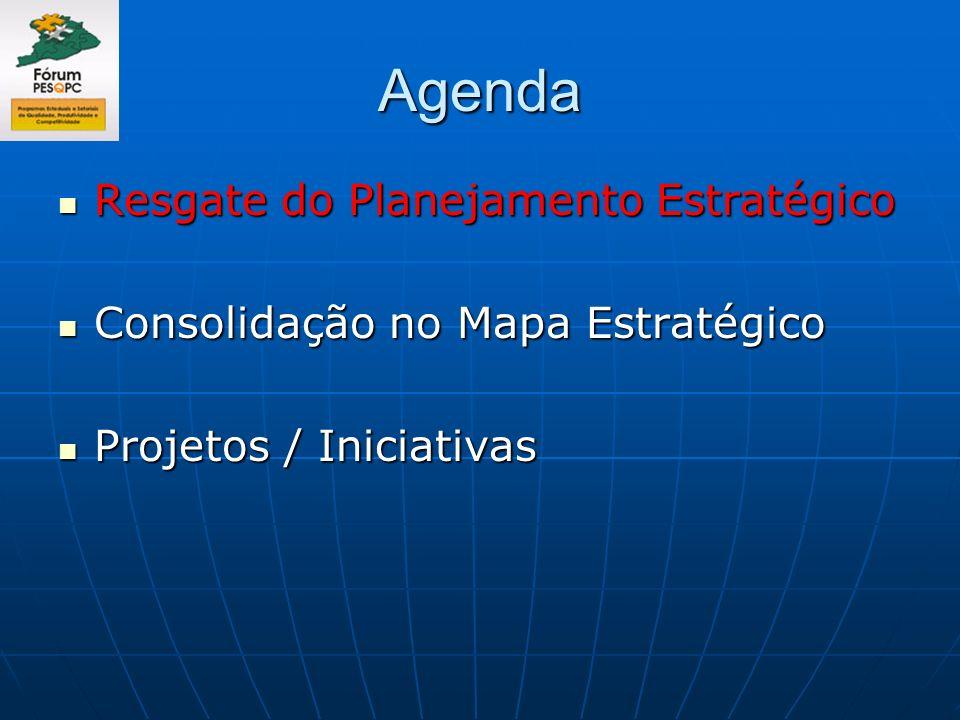 Agenda Resgate do Planejamento Estratégico