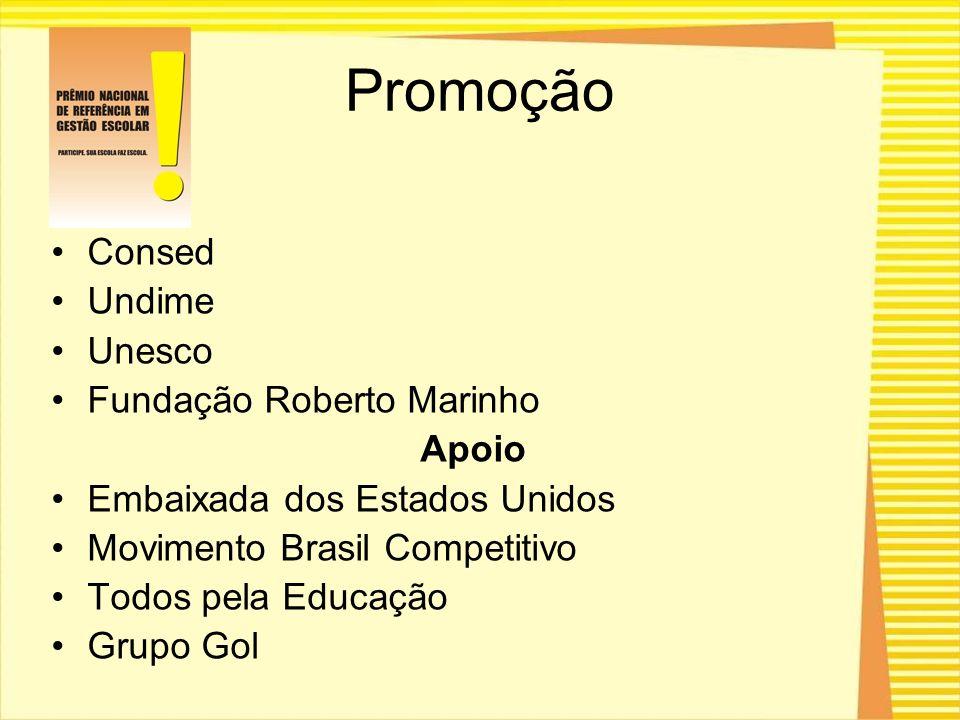 Promoção Consed Undime Unesco Fundação Roberto Marinho Apoio