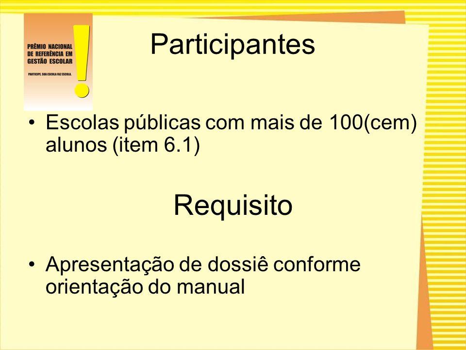 Participantes Requisito