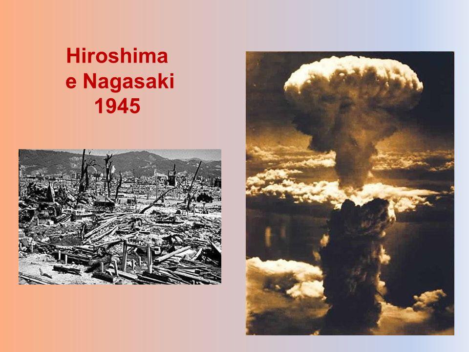 Hiroshima e Nagasaki 1945