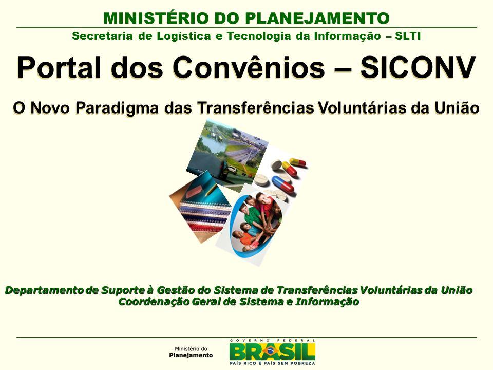 Portal dos Convênios – SICONV