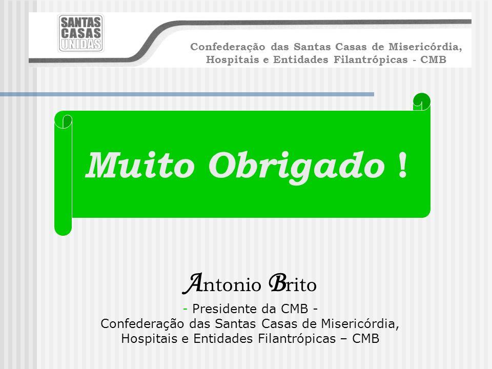 Hospitais e Entidades Filantrópicas – CMB