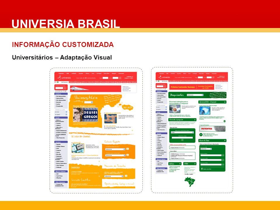 UNIVERSIA BRASIL INFORMAÇÃO CUSTOMIZADA
