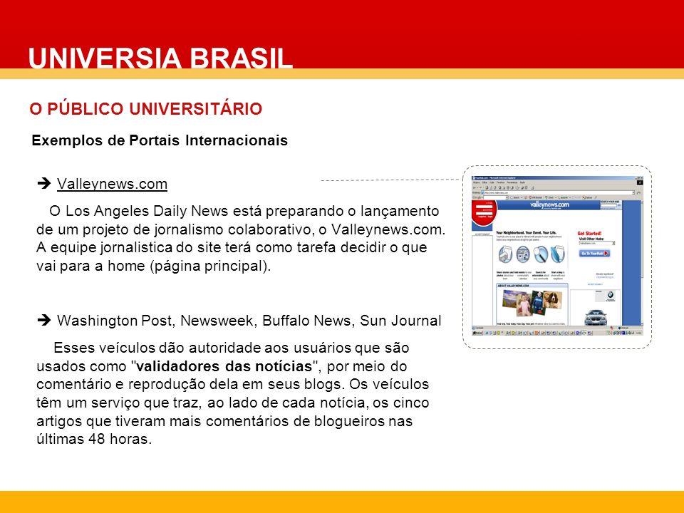 UNIVERSIA BRASIL O PÚBLICO UNIVERSITÁRIO