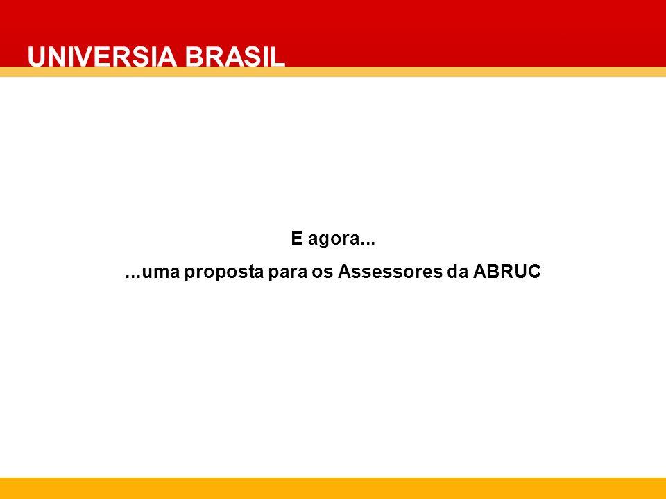 ...uma proposta para os Assessores da ABRUC