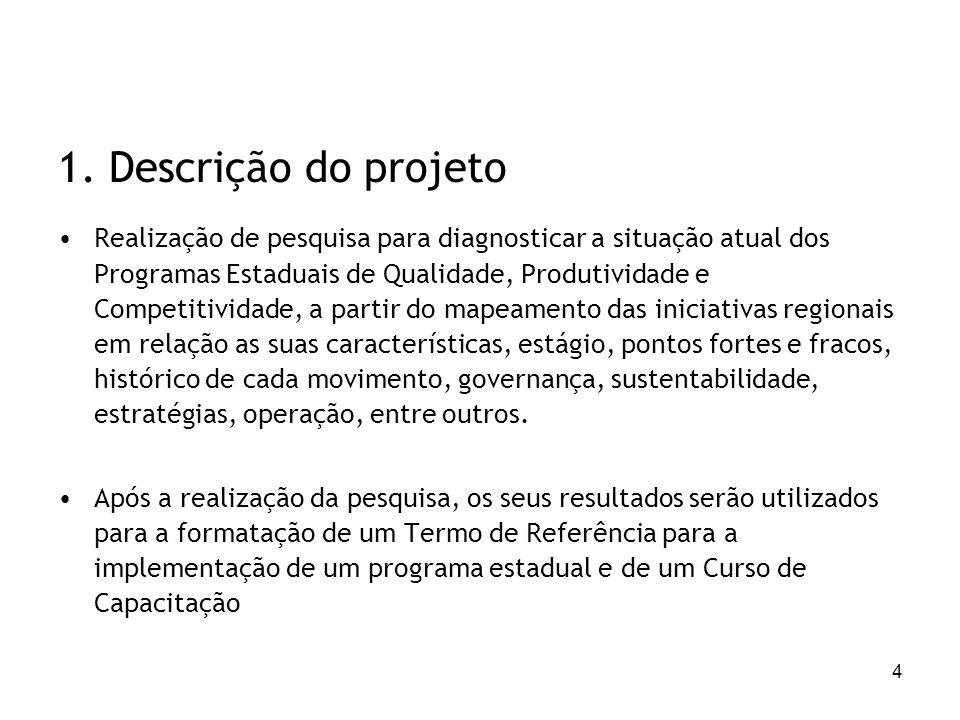 1. Descrição do projeto